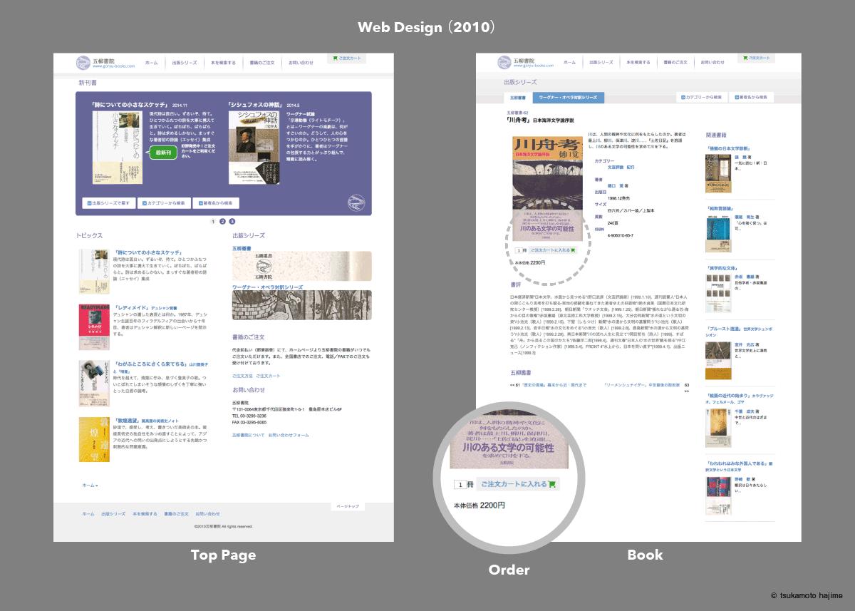 出版社ホームページ(2010)