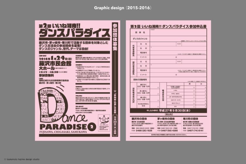 参加者募集・申し込みチラシ。これは必要な枚数をコピー機や出力機でプリントして使用した。